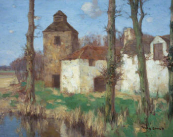 Spring Morning   David Gauld   oil painting