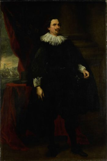 Portrait of a man from the family van der Borght