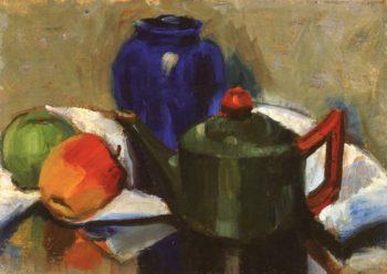 Major Scale Green | Edouard Vysekal | oil painting