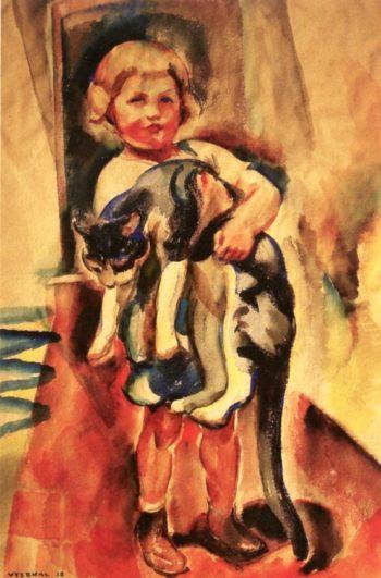 Margaret Jean Hastings 1 | Edouard Vysekal | oil painting
