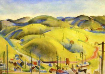 McCallan Heights | Edouard Vysekal | oil painting