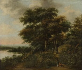 Wooded landscape. 1640 - 1690 | Anthonie Waterloo | oil painting