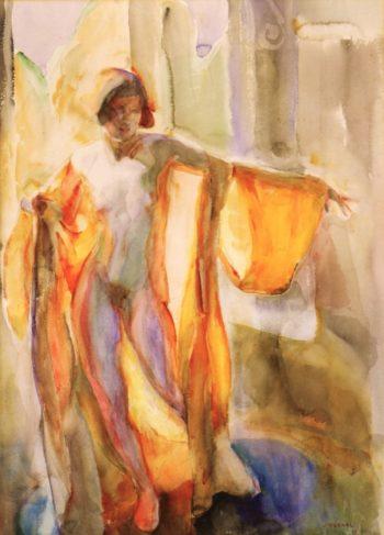 Nude | Edouard Vysekal | oil painting
