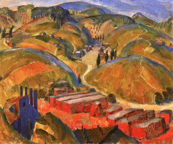Silver Lake | Edouard Vysekal | oil painting