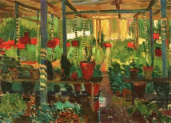 The Red Pots | Edouard Vysekal | oil painting