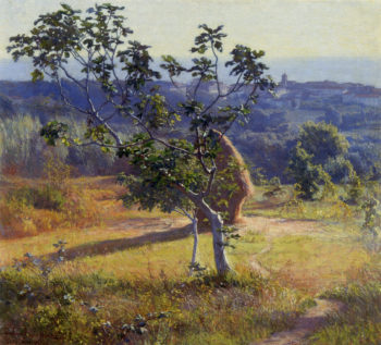 Antignano outskirts | Elin Kleopatra Danielson Gambogi | oil painting