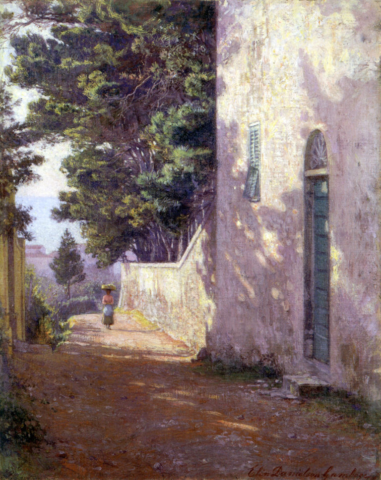Antignano | Elin Kleopatra Danielson Gambogi | oil painting