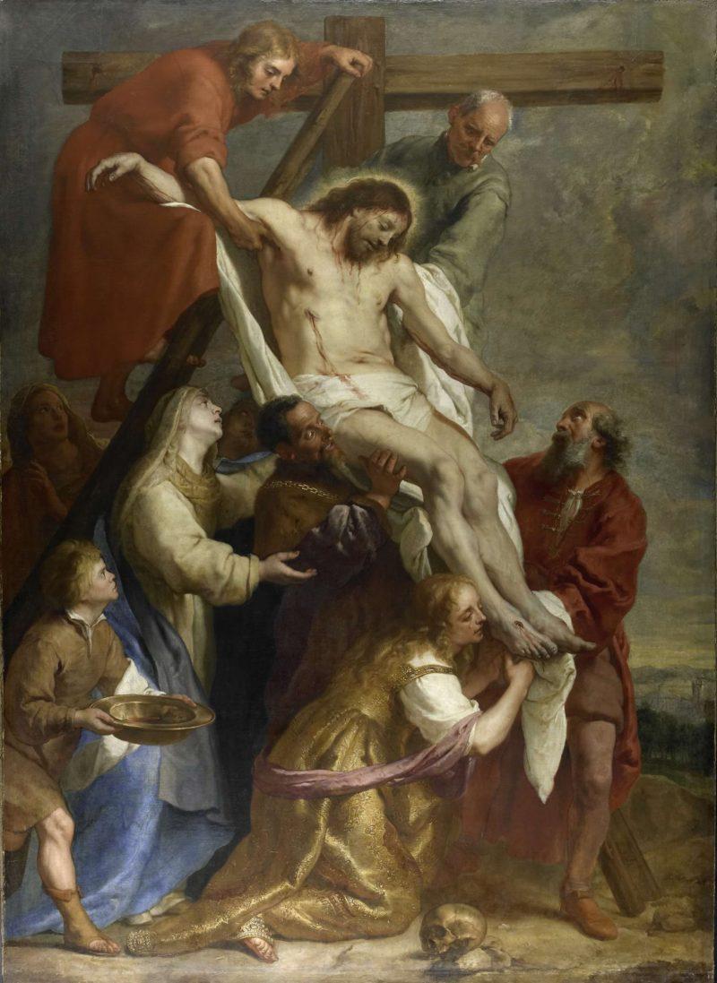 The Deposition. 1630 - 1669   Gaspar de Crayer   oil painting