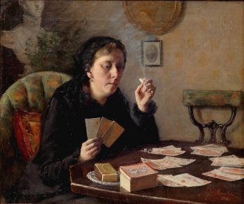 Cards Entertainment | Elin Kleopatra Danielson Gambogi | oil painting