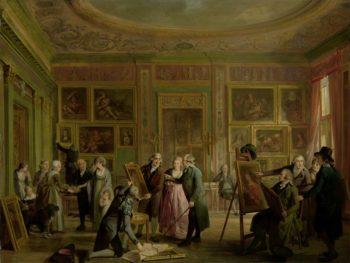 The Art Gallery of Josephus Augustinus Brentano. ca. 1790 - ca. 1799 | Adriaan de Lelie | oil painting