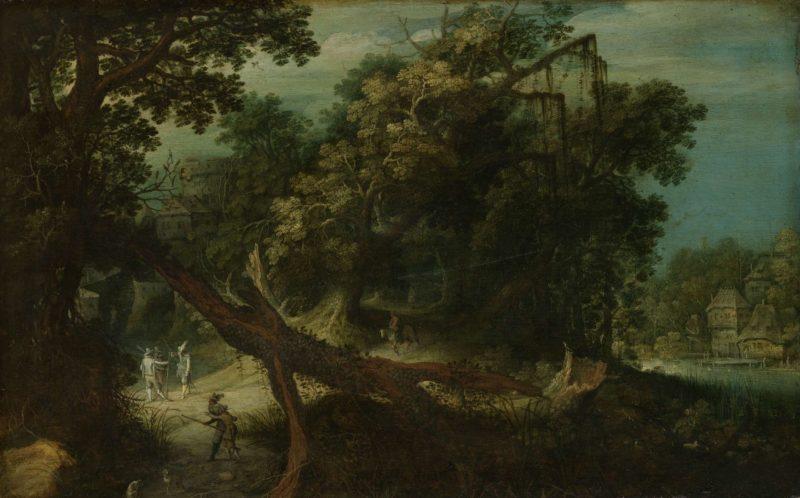 Mountainous landscape. 1600 - 1640 | Adriaen van Stalbemt | oil painting