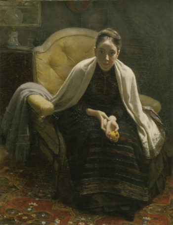 Hilma Westerholmista | Elin Kleopatra Danielson Gambogi | oil painting