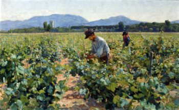 In the Vineyard | Elin Kleopatra Danielson Gambogi | oil painting