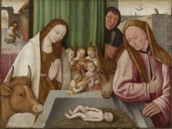 The Birth. ca. 1550 - ca. 1600 | Jheronimus Bosch | oil painting