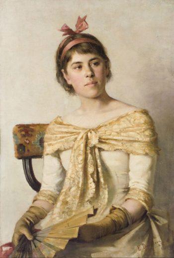 Rosa | Elin Kleopatra Danielson Gambogi | oil painting