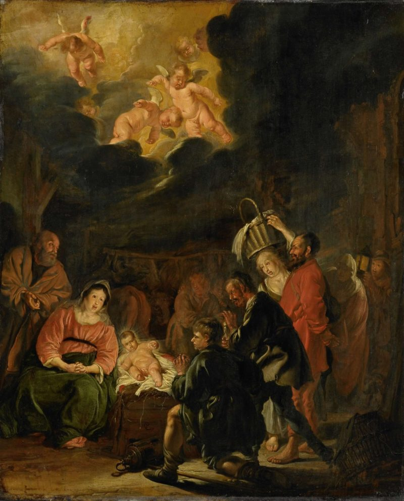 The Adoration of the Shepherds. 1645 | Pieter Codde | oil painting