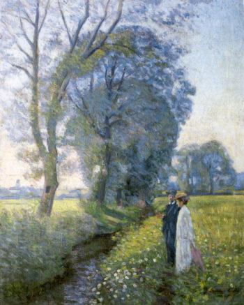 Walk | Elin Kleopatra Danielson Gambogi | oil painting
