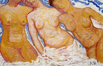 Three Female Torsos | Alice Bailly | oil painting