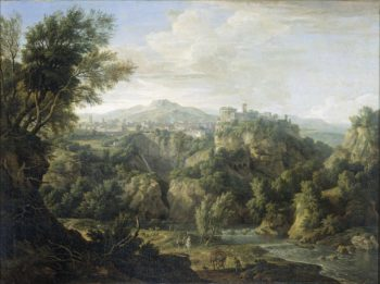 View of Tivoli. 1725 | Isaac de Moucheron | oil painting