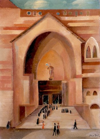 Time for Mass | Alice Bailly | oil painting