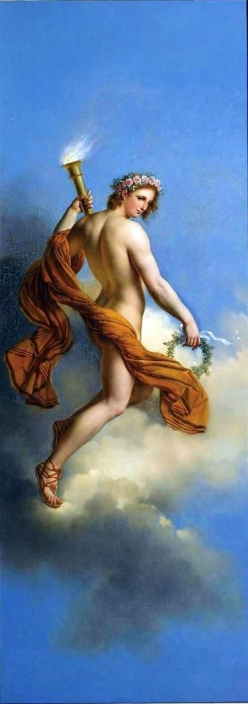 Apollo | Anne Louis Girodet de Roussy Trioson | oil painting
