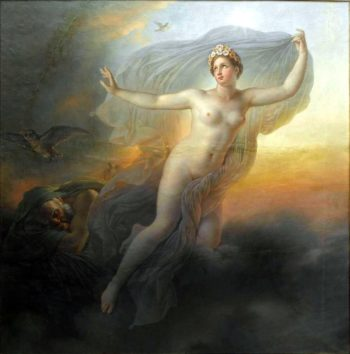 Aurora | Anne Louis Girodet de Roussy Trioson | oil painting