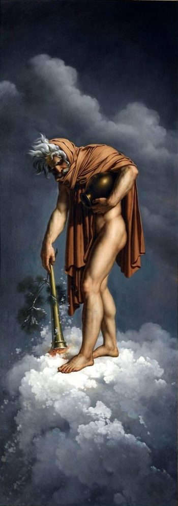 Four Seasons Winter | Anne Louis Girodet de Roussy Trioson | oil painting