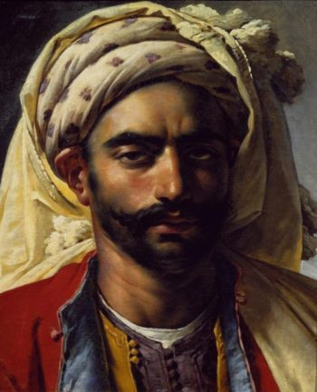 Portrait de Mustapha | Anne Louis Girodet de Roussy Trioson | oil painting