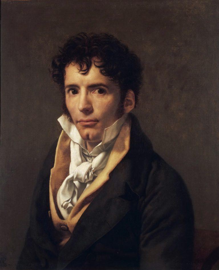 Portrait of a Man | Anne Louis Girodet de Roussy Trioson | oil painting