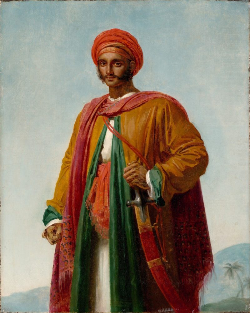 Portrait of an Indian | Anne Louis Girodet de Roussy Trioson | oil painting
