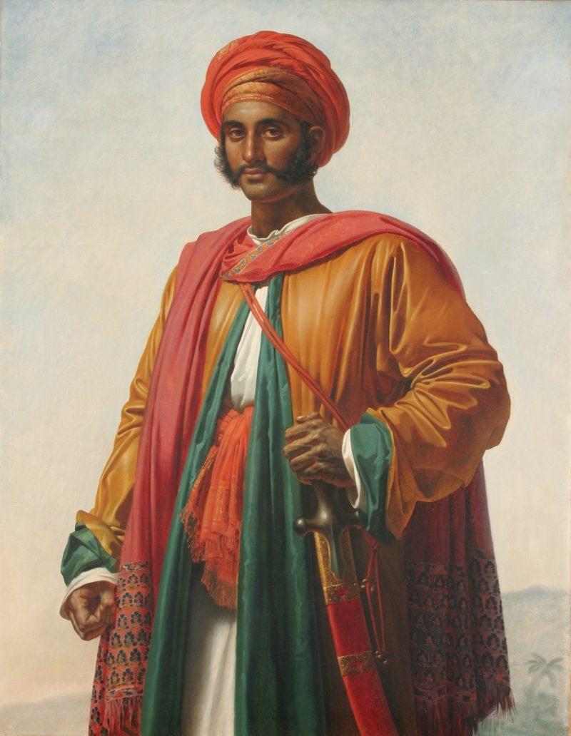 Portrait of an Indian   Anne Louis Girodet de Roussy Trioson   oil painting