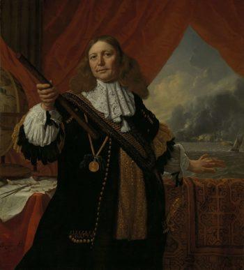 Johan Love (ca. 1619-73). Vice Admiral. 1668 | Bartholomeus van der Helst | oil painting