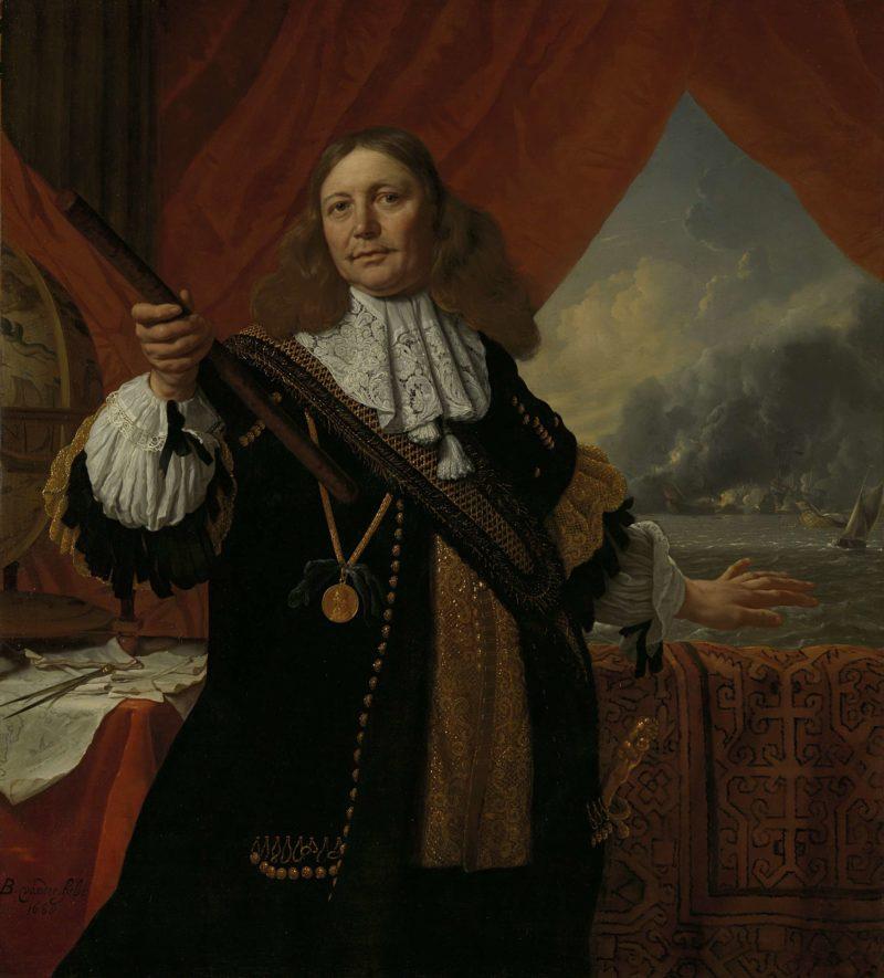 Johan Love (ca. 1619-73). Vice Admiral. 1668   Bartholomeus van der Helst   oil painting