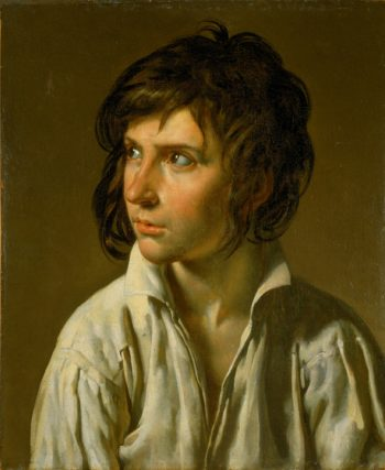 Portrait of a Youth | Anne Louis Girodet de Roussy Trioson | oil painting