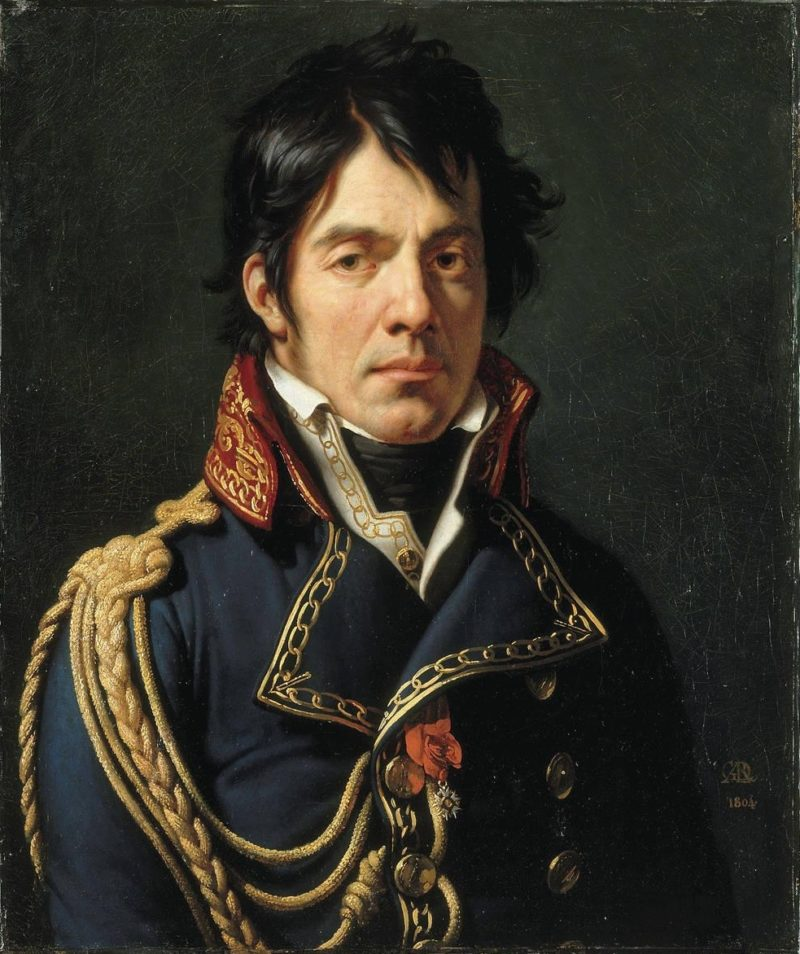 Portrait of Baron Jean Dominique Larrey | Anne Louis Girodet de Roussy Trioson | oil painting