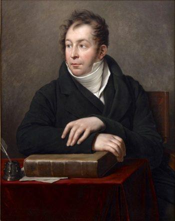 Portrait of Jacques Maximilien Benjamin Binsse Earl of Saint Victor | Anne Louis Girodet de Roussy Trioson | oil painting