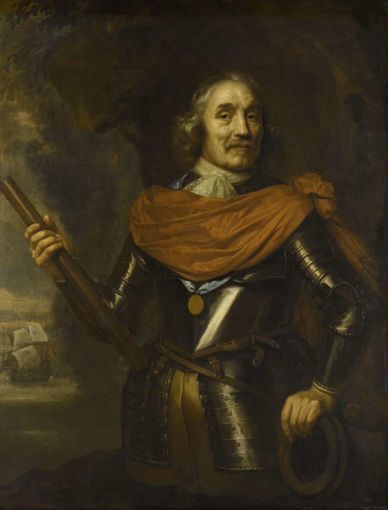 Harpertsz Maerten Tromp (1597-1653). Lieutenant-Admiral. 1640 - 1653   Jan Lievens   oil painting