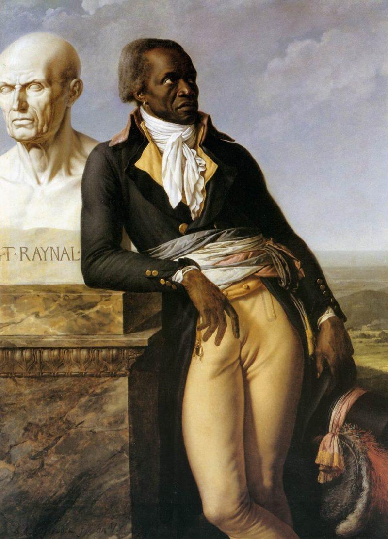 Portrait of JB Belley Deputy for Saint Domingue   Anne Louis Girodet de Roussy Trioson   oil painting