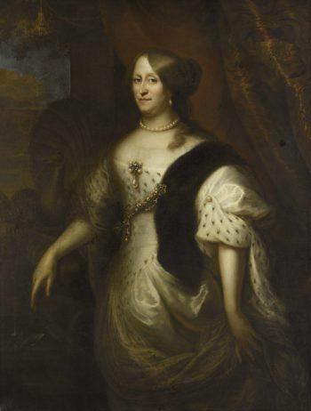 Cornelia Berkhout (1614-80). Wife of Harpertsz Maerten Tromp. 1640 - 1653 | Jan Lievens | oil painting