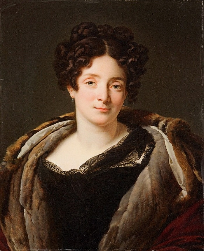 Portrait of Mrs Reiset | Anne Louis Girodet de Roussy Trioson | oil painting