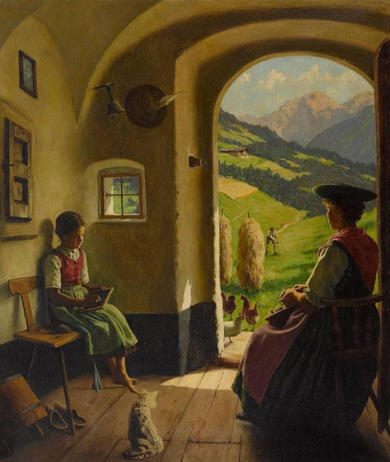 Summer Day | Emil Rau | oil painting