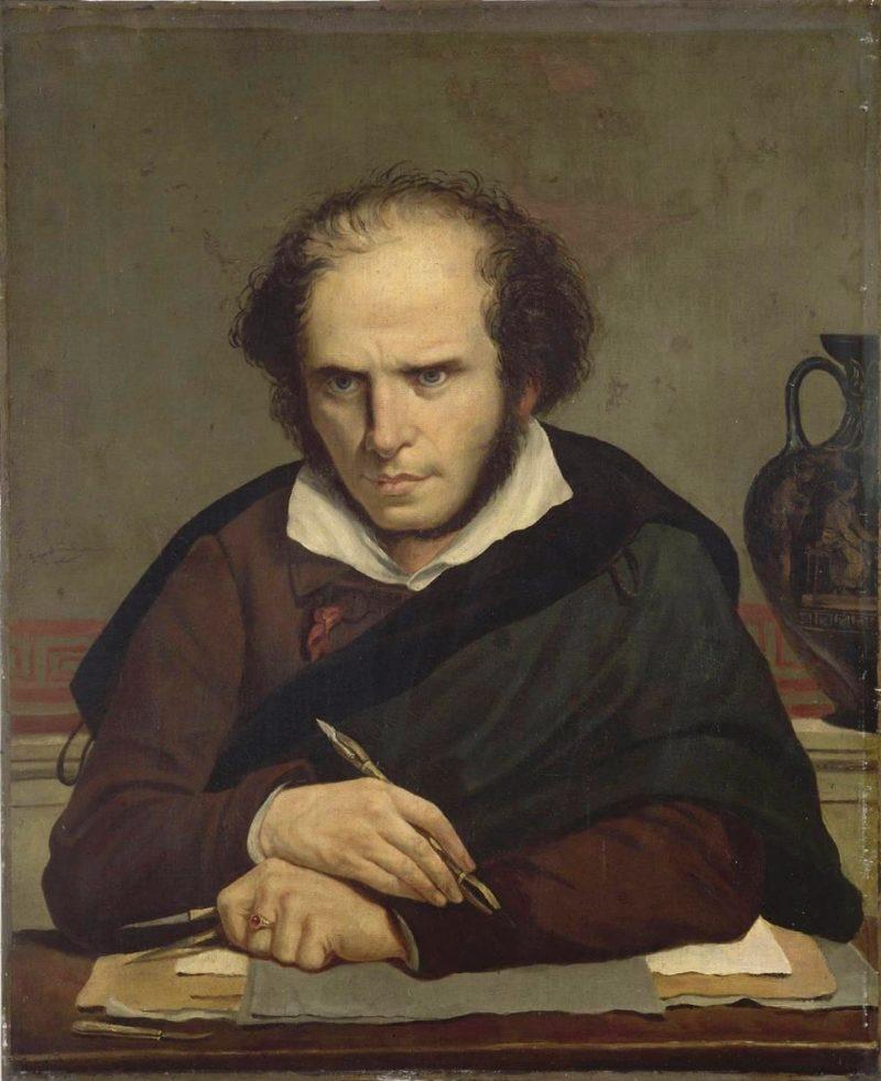 Self Portrait | Anne Louis Girodet de Roussy Trioson | oil painting