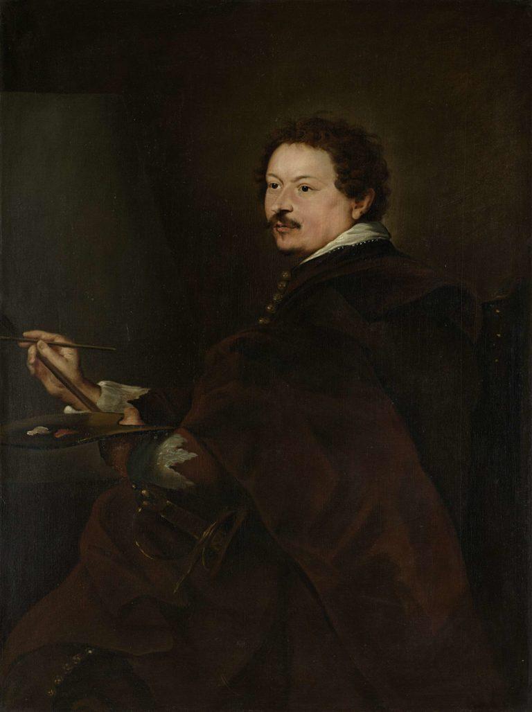 Andries van Eertvelt (1590-1652). Painter. 1660 - 1720   Anthony van Dyck   oil painting