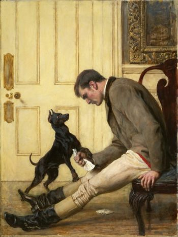 Jilted | Briton Riviere | oil painting