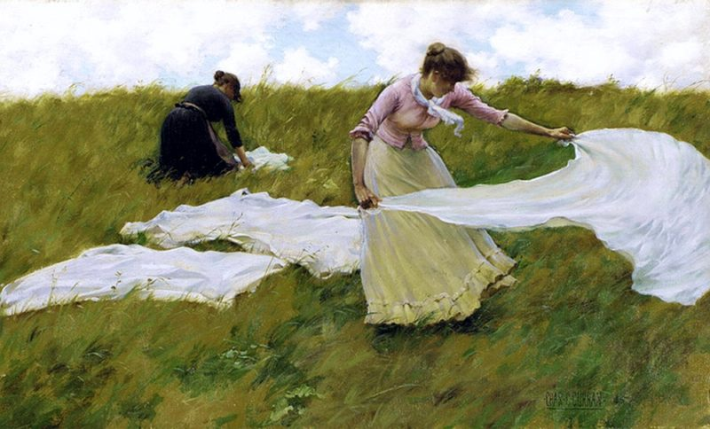 A Breezy Day | Charles Courtney Curran | oil painting