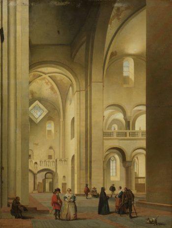 The transept of St. Mary's Church in Utrecht
