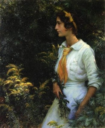 Goldenrod | Charles Courtney Curran | oil painting