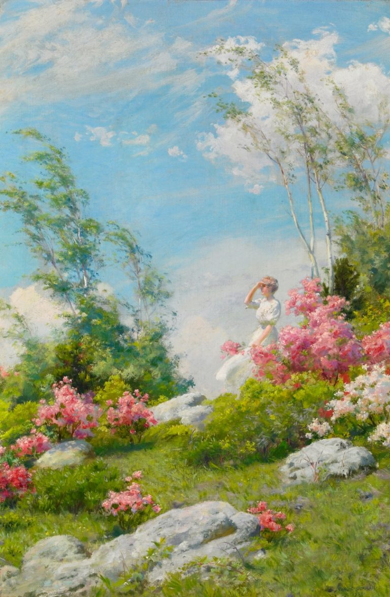 May Morning | Charles Courtney Curran | oil painting
