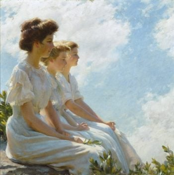 On the Heights | Charles Courtney Curran | oil painting