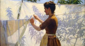 Shadows | Charles Courtney Curran | oil painting